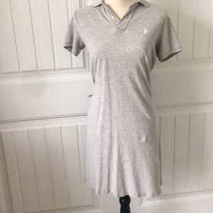 Polo knit dress